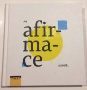 Jan Mendel_Afirmace_ (Book front)
